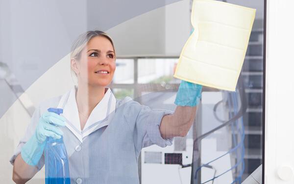 Lavaggio vetri e vetrine