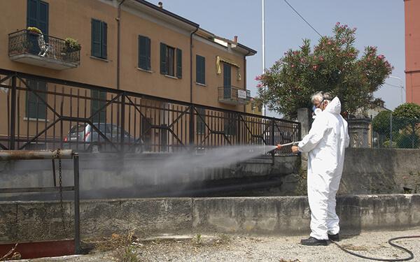 Trattamento anti zanzare